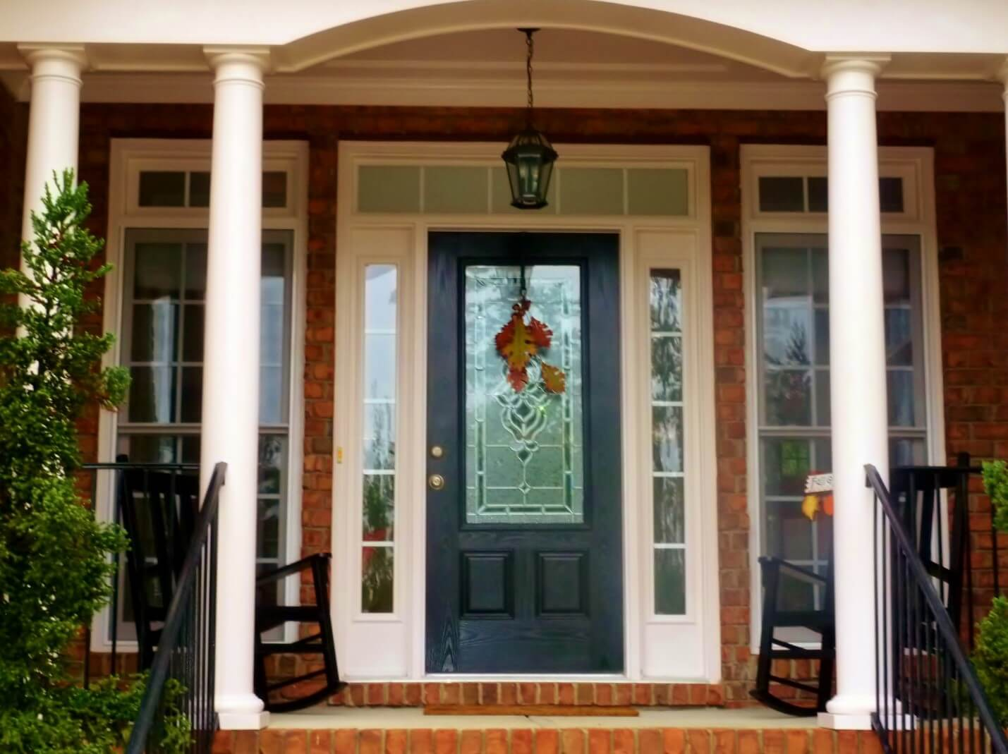 New Front Door Replacement With Windows In Lancaster,PA