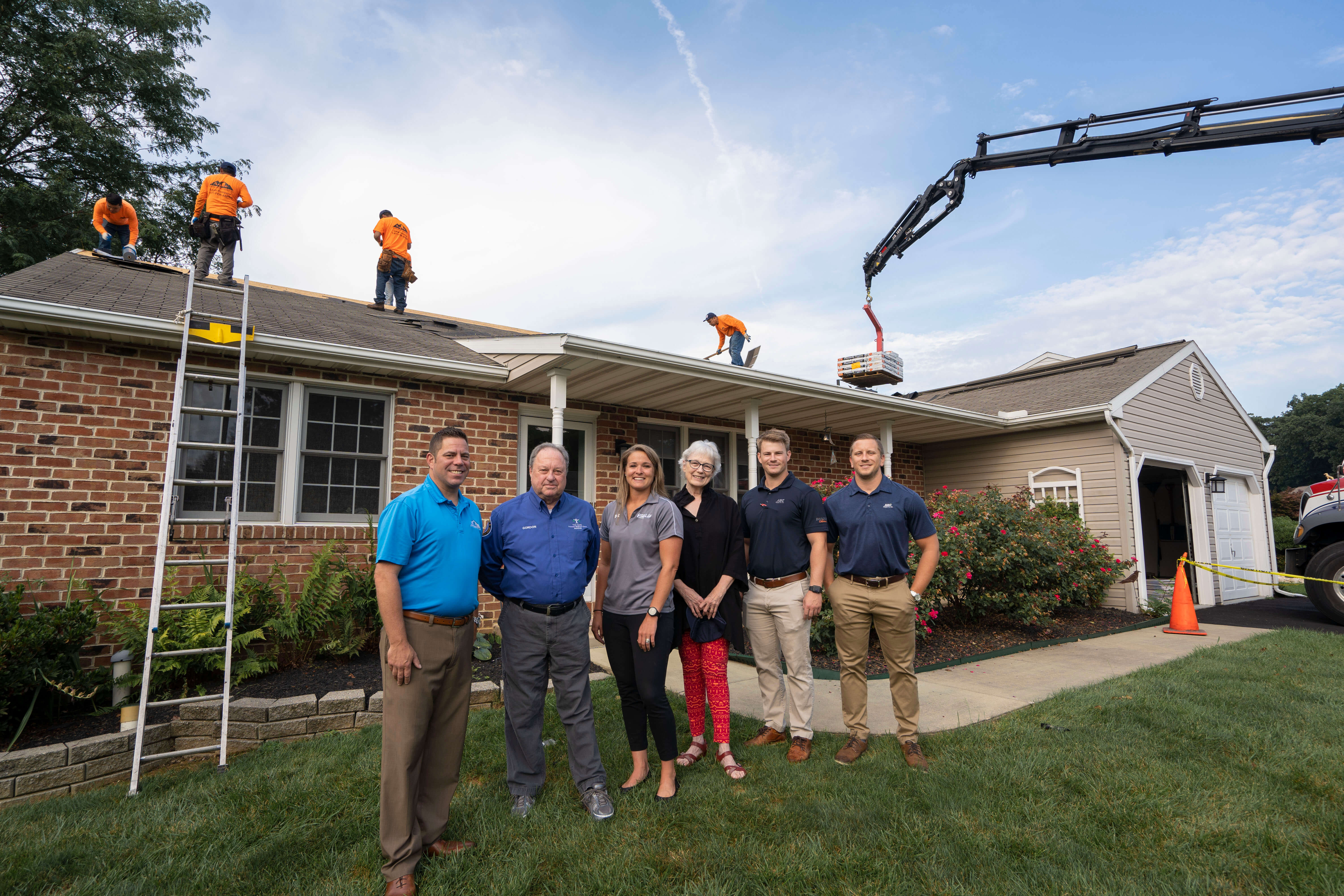 Roof installation, roof repair, free roof