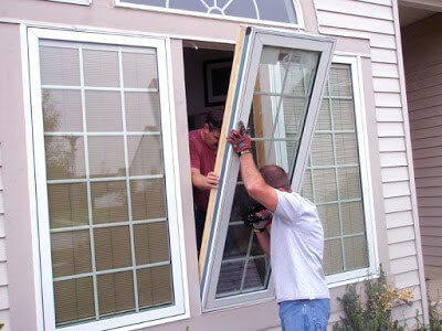 Window Contractors Installing Window in Lancaster, PA