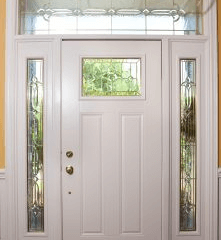 New Euro White Door replacement in Lancaster. PA