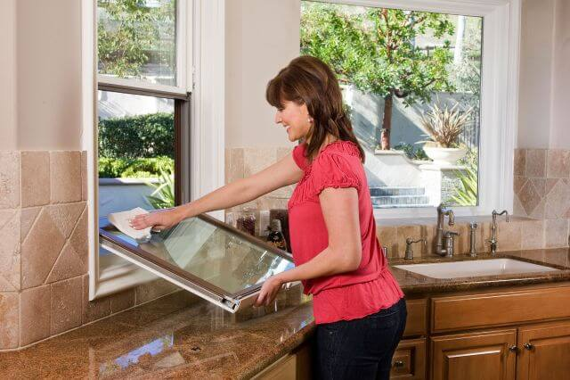 How to Clean a Double Hung Window