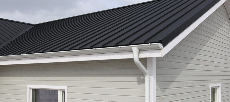 Seamless Gutter Installation at a client's home in Lancaster PA