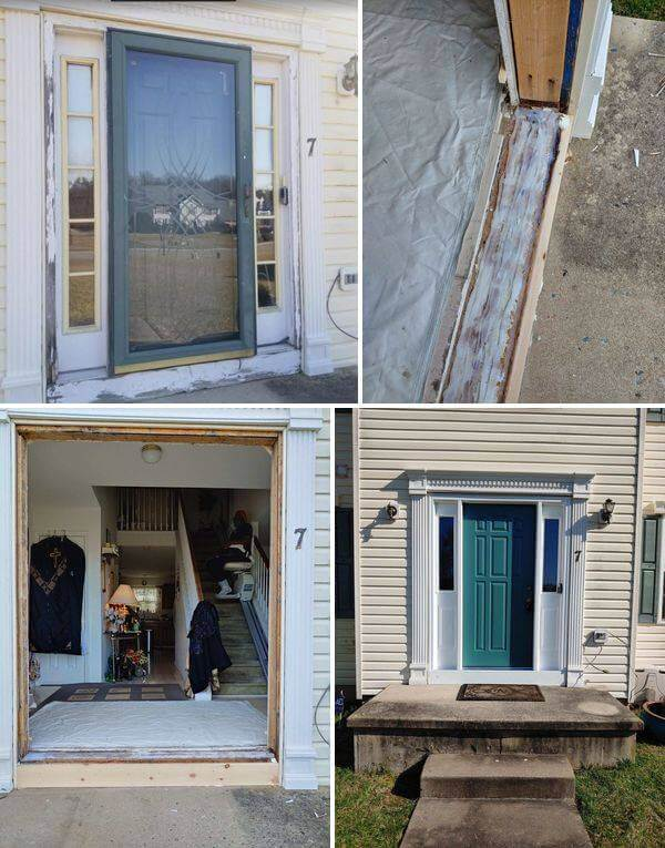Complete door replacement transformation for client in York, PA