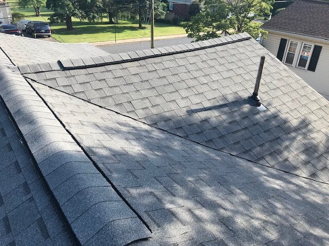 Installation of new replacement roof in East Petersburg PA