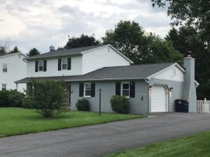 New Roof Replacement for client's home at pinewood avenue lititz pa 17543